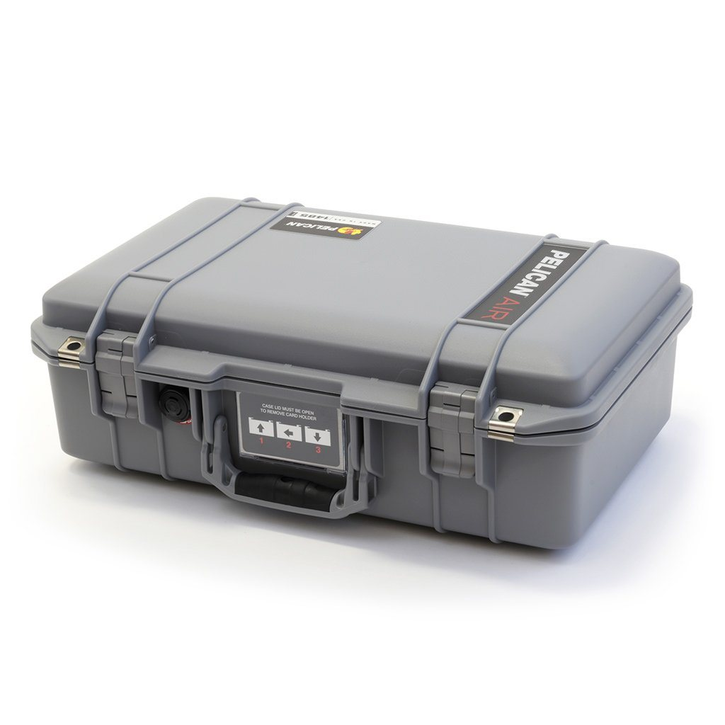 Pelican 1485 Air Case, Silver - Pelican Color Case