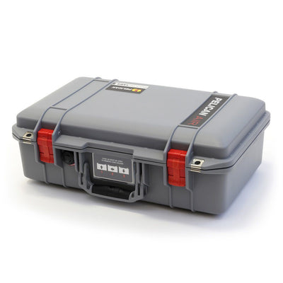 Pelican 1485 Air Case, Silver with Red Latches - Pelican Color Case