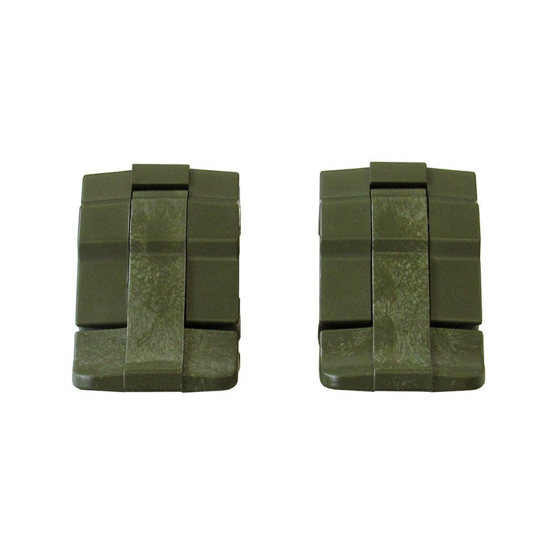 OD Green Replacement Latches for Pelican 1485, Two OD Green Latches - Pelican Color Case