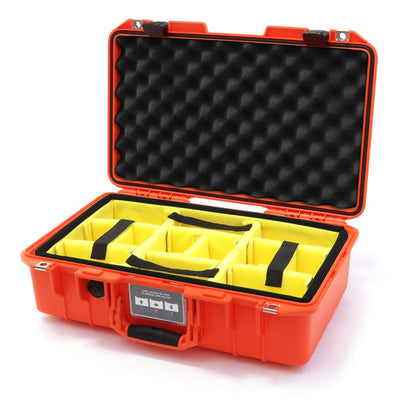 Pelican 1485 Air Case, Orange with Black Latches - Pelican Color Case