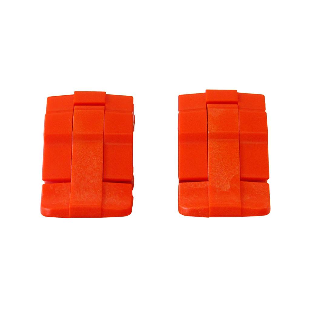 Orange Replacement Latches for Pelican 1485, Two Orange Latches - Pelican Color Case
