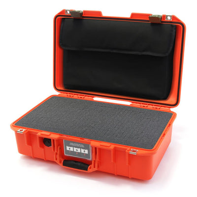 Pelican 1485 Air Colors Series, Orange Air Case with OD Green Latches, Customizable Accessory Bundles - Pelican Color Case