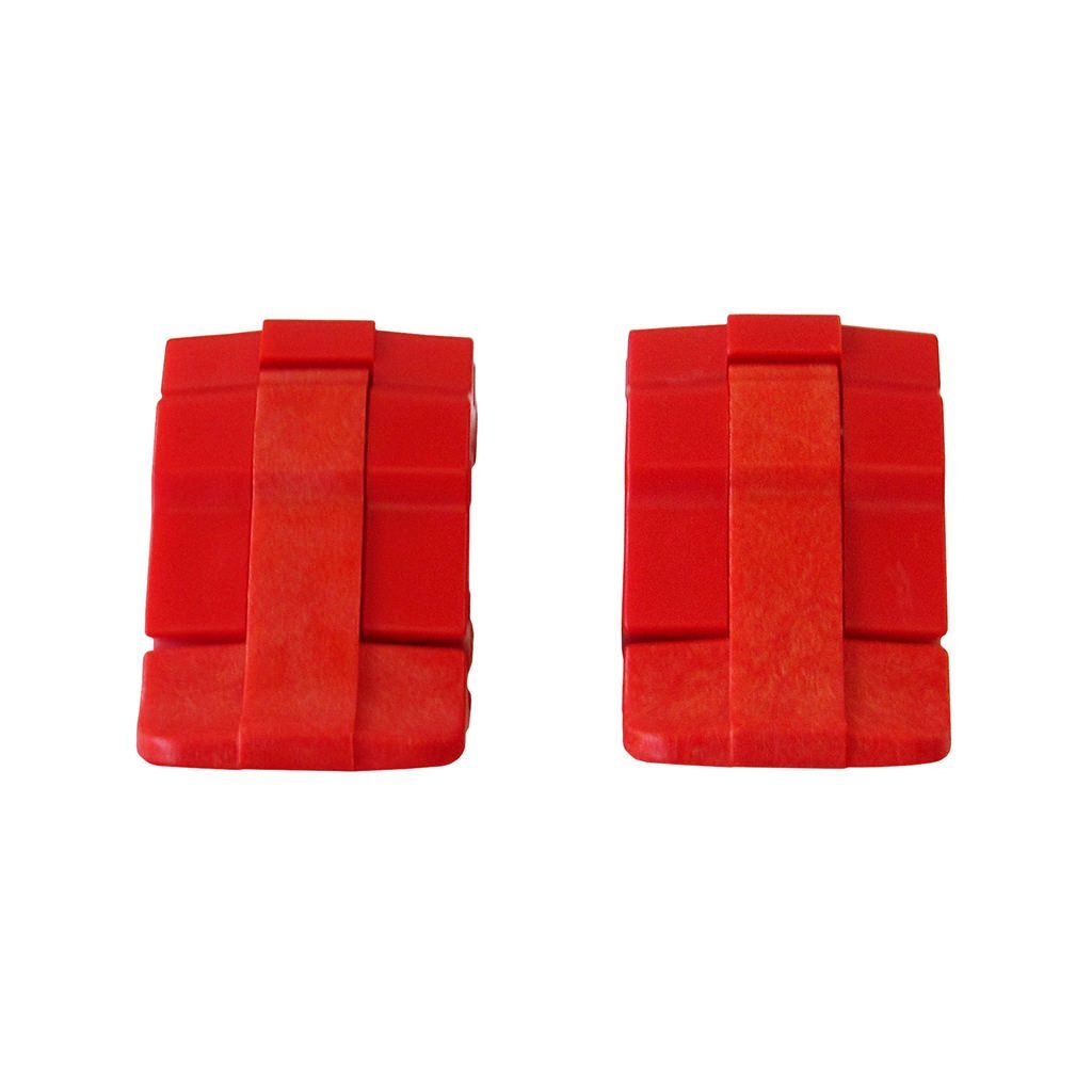 Red Replacement Latches for Pelican 1485, Two Red Latches - Pelican Color Case