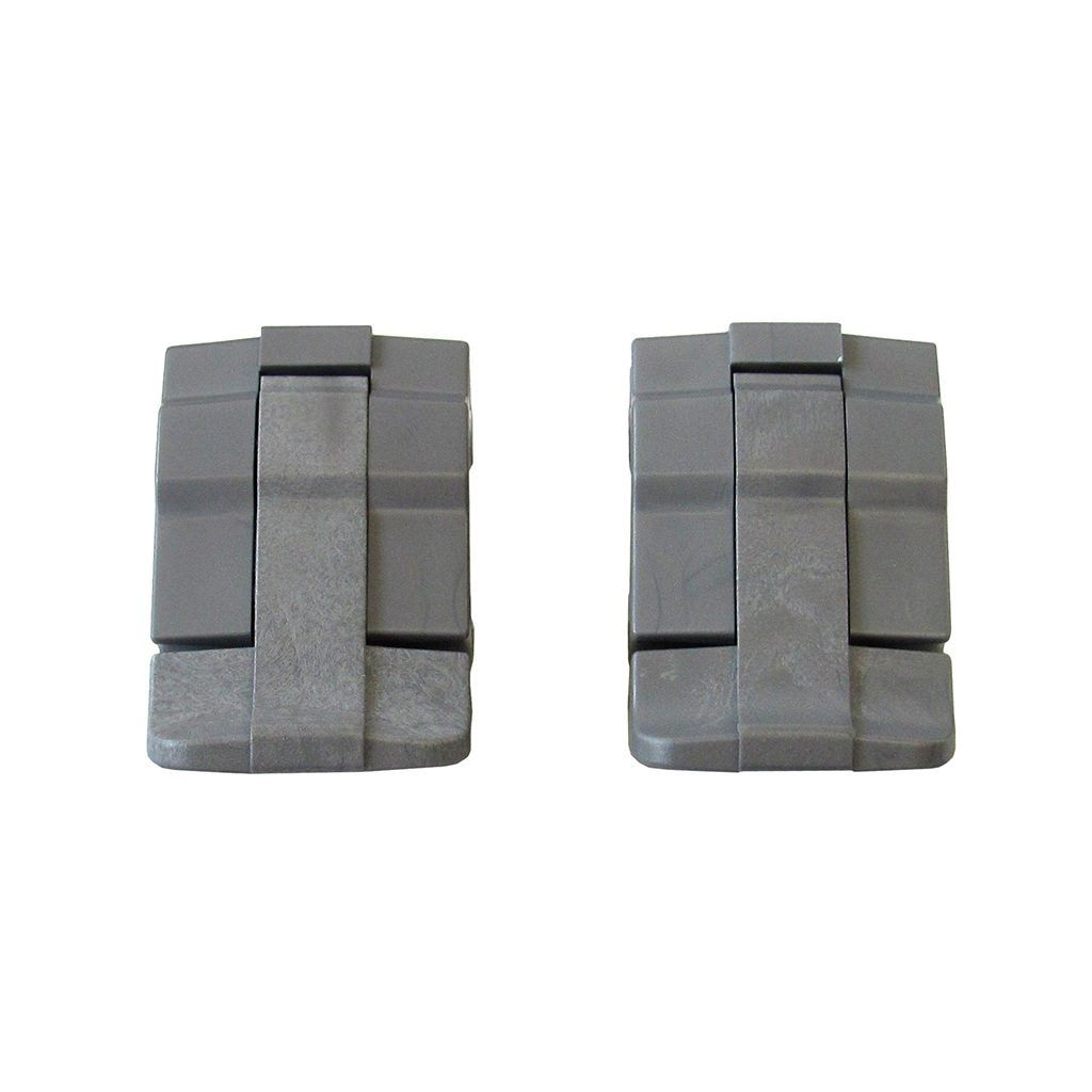 Silver Gray Replacement Latches for Pelican 1485, Two Silver Gray Latches - Pelican Color Case