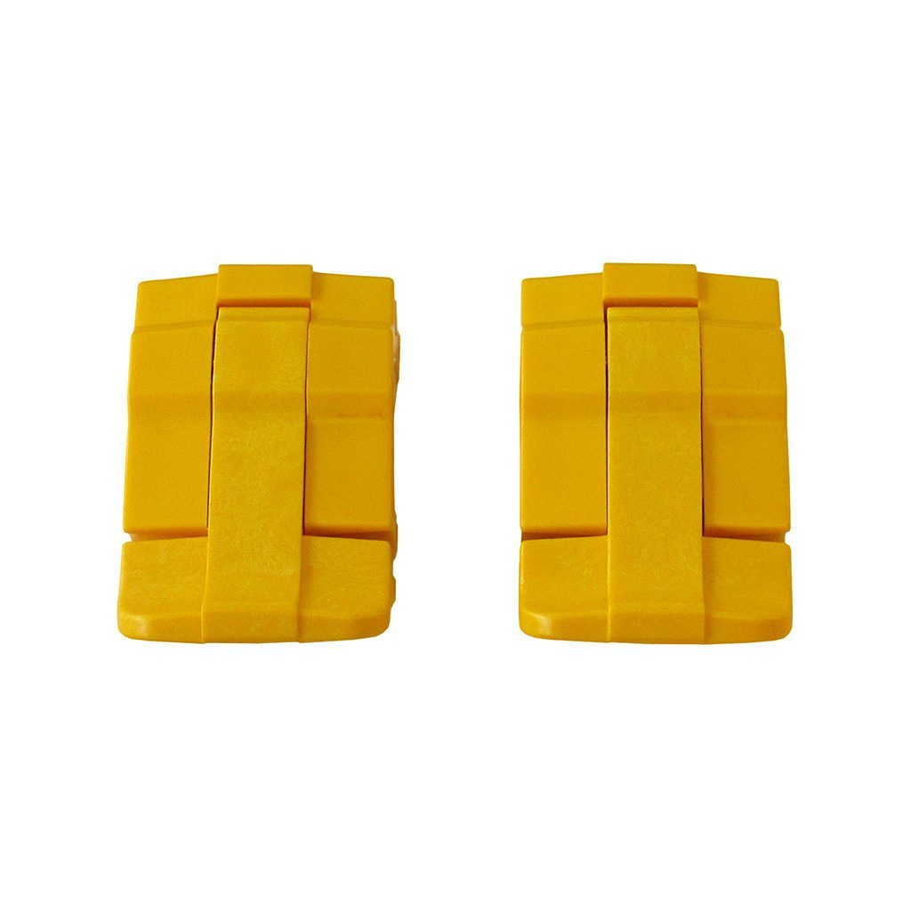 Yellow Replacement Latches for Pelican 1485, Two Yellow Latches - Pelican Color Case