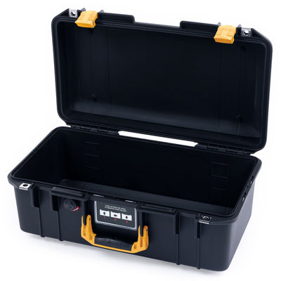 Pelican 1506 Air Case, Black with Yellow Handles & Latches - Pelican Color Case