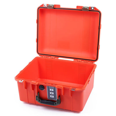 Pelican 1507 Air Colors Series, Orange Air Case with OD Green Handles & Latches, Customizable Accessory Bundles - Pelican Color Case