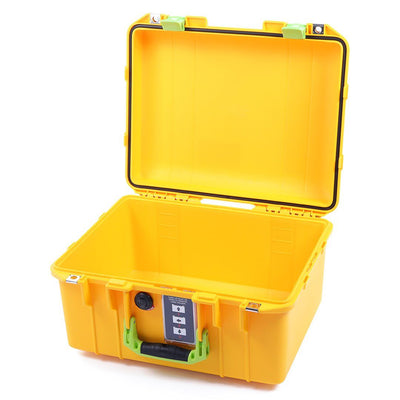 Pelican 1507 Air Case, Yellow with Lime Green Handle & Latches - Pelican Color Case