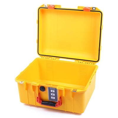 Pelican 1507 Air Colors Series, Yellow Air Case with Orange Handles & Latches, Customizable Accessory Bundles - Pelican Color Case