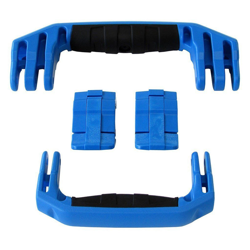 Blue Replacement Handles & Latches for Pelican 1510 or 1560, Two Blue Handles, Two Blue Latches - Pelican Color Case