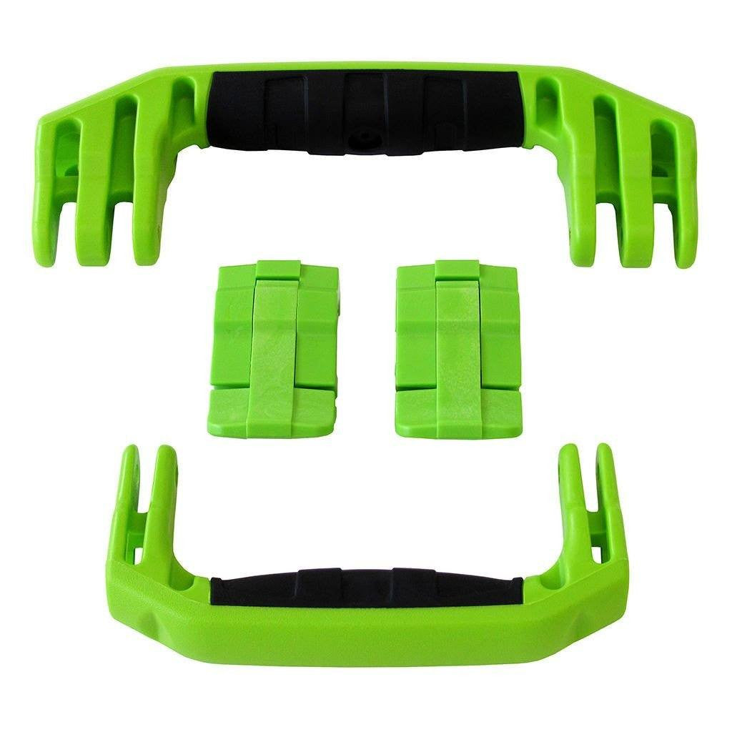 Lime Green Replacement Handles & Latches for Pelican 1510 or 1560, Two Lime Green Handles, Two Lime Green Latches