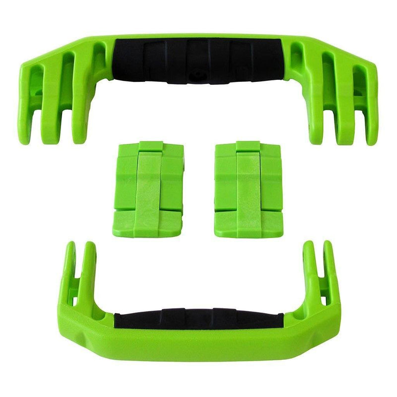 Lime Green Replacement Handles & Latches for Pelican 1510 or 1560, Two Lime Green Handles, Two Lime Green Latches - Pelican Color Case
