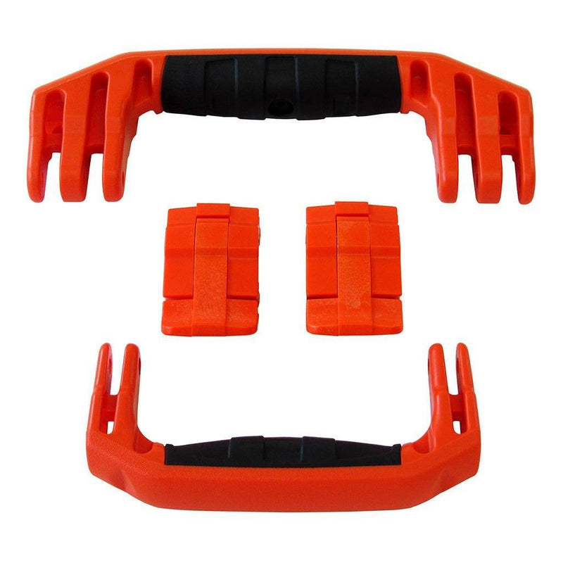 Orange Replacement Handles & Latches for Pelican 1510 or 1560, Two Orange Handles, Two Orange Latches