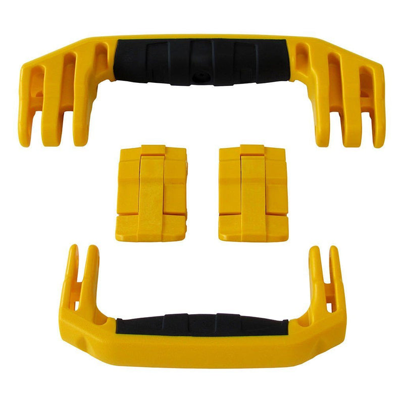 Yellow Replacement Handles & Latches for Pelican 1510 or 1560, Two Yellow Handles, Two Yellow Latches