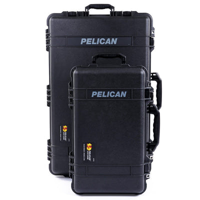 Pelican 1510 & 1650 Protector Cases Bundle, Black - Pelican Color Case