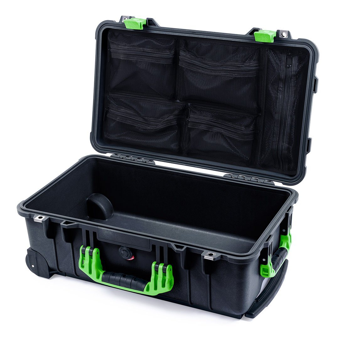 4ebcaf1296f7 Pelican 1510 Case, Black with Lime Green Handles & Latches