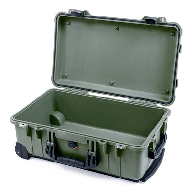 Pelican 1510 Case, OD Green with Black Handles & Latches - Pelican Color Case