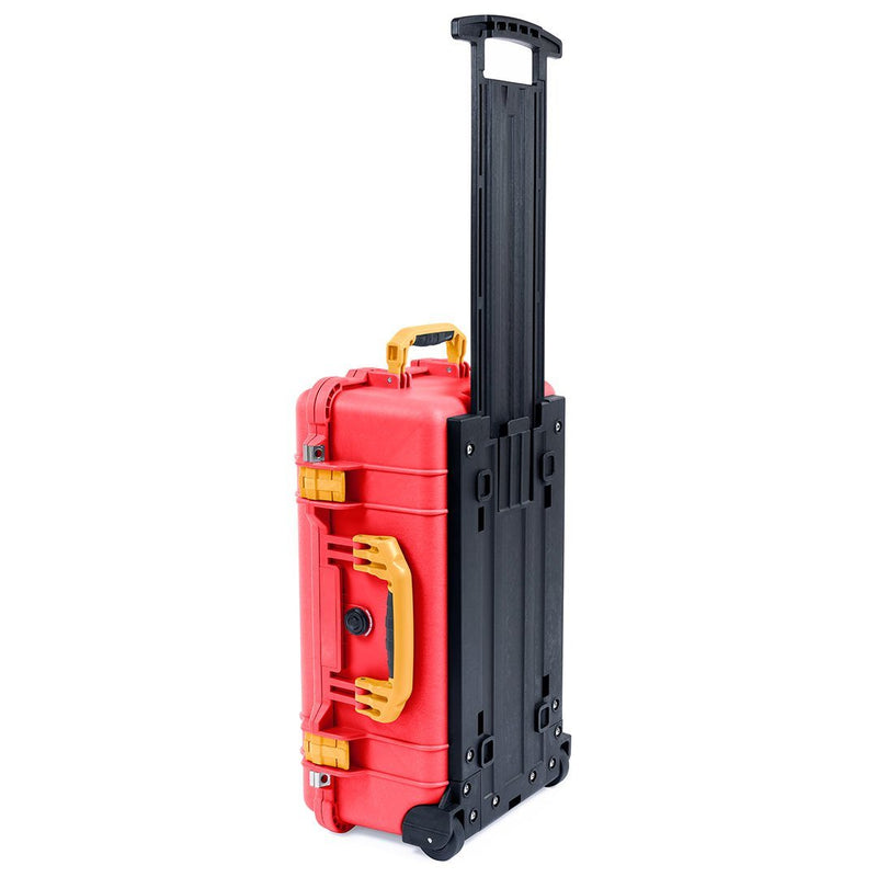 Pelican 1510 Case, Red with Yellow Handles & Latches