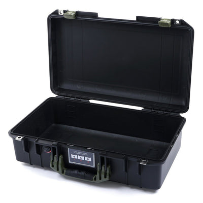 Pelican 1525 Air Case, Black with OD Green Handle & Latches - Pelican Color Case