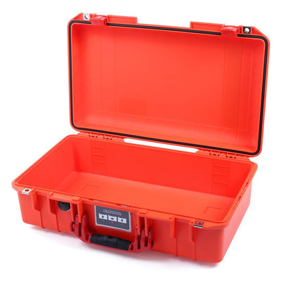 Pelican 1525 Air Case, Orange with Red Handle & Latches - Pelican Color Case
