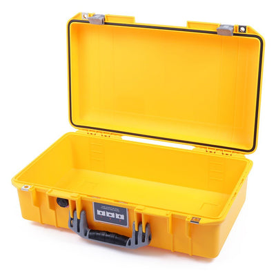 Pelican 1525 Air Case, Yellow with Silver Handle & Latches - Pelican Color Case