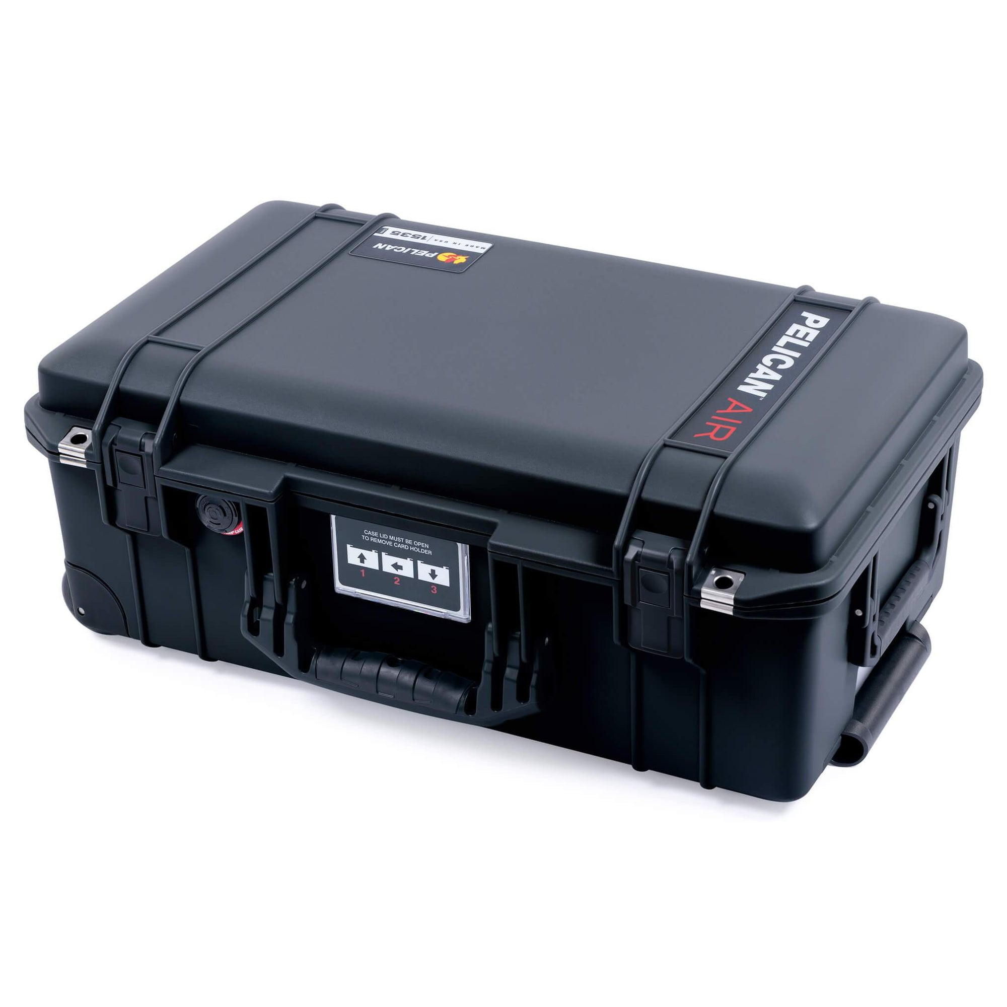 Pelican 1535 Air Case, Black - Pelican Color Case