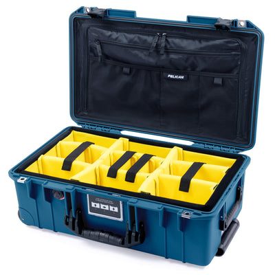 Pelican 1535 Air Case, Indigo with Black Handles & Latches - Pelican Color Case