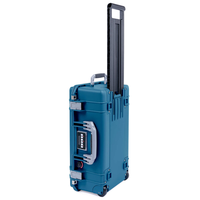 Pelican 1535 Air Case, Indigo with Silver Handles & Latches - Pelican Color Case