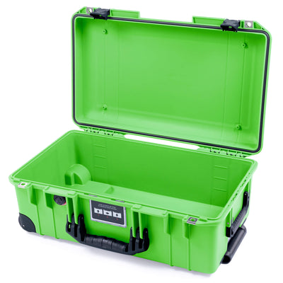 Pelican 1535 Air Case, Lime Green with Black Handles & Latches - Pelican Color Case