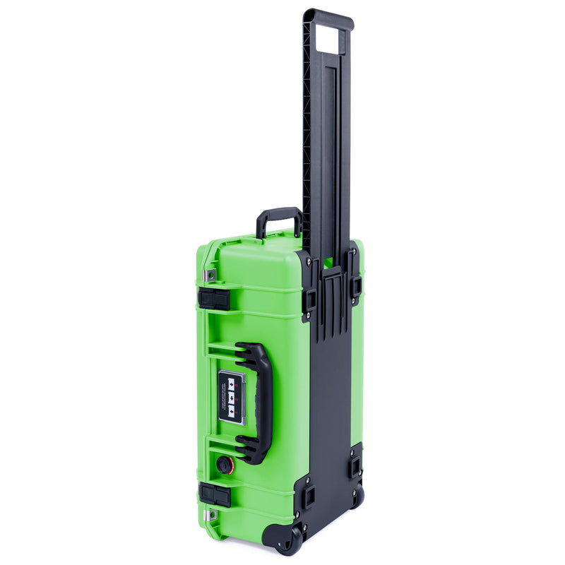 Pelican 1535 Air Case, Lime Green with Black Handles & Latches