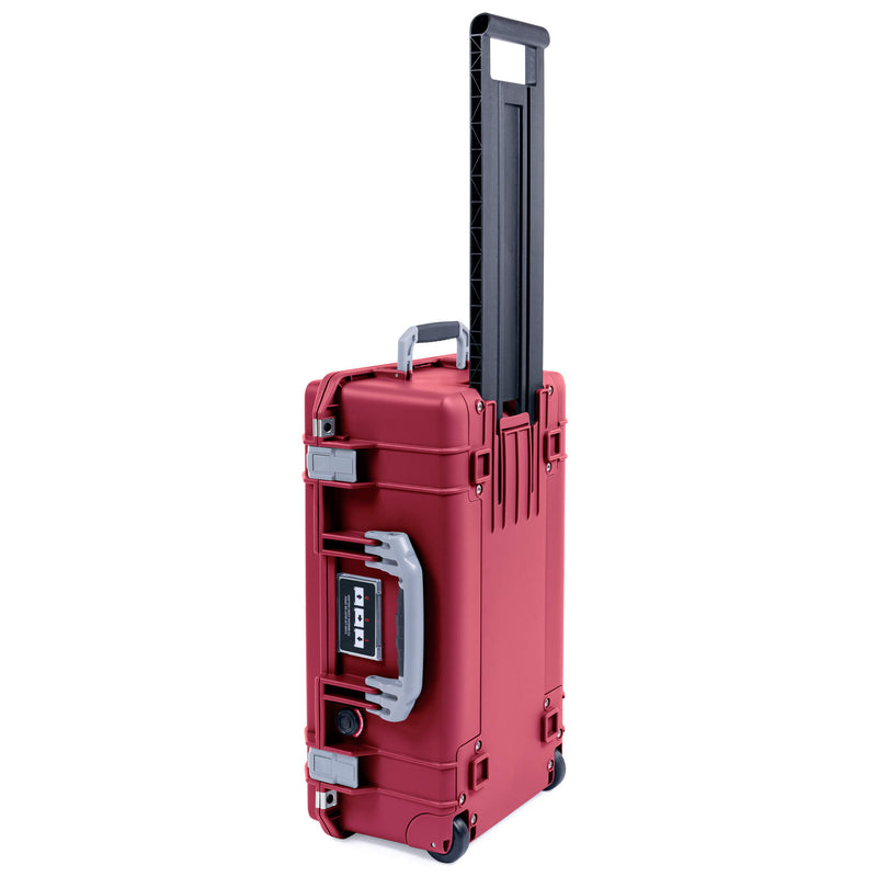 Pelican 1535 Air Case, Oxblood with Silver Handles & Latches - Pelican Color Case