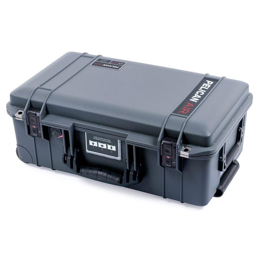 Pelican 1535TRVL Air Travel Case with Locking TSA Latches, Charcoal - Pelican Color Case