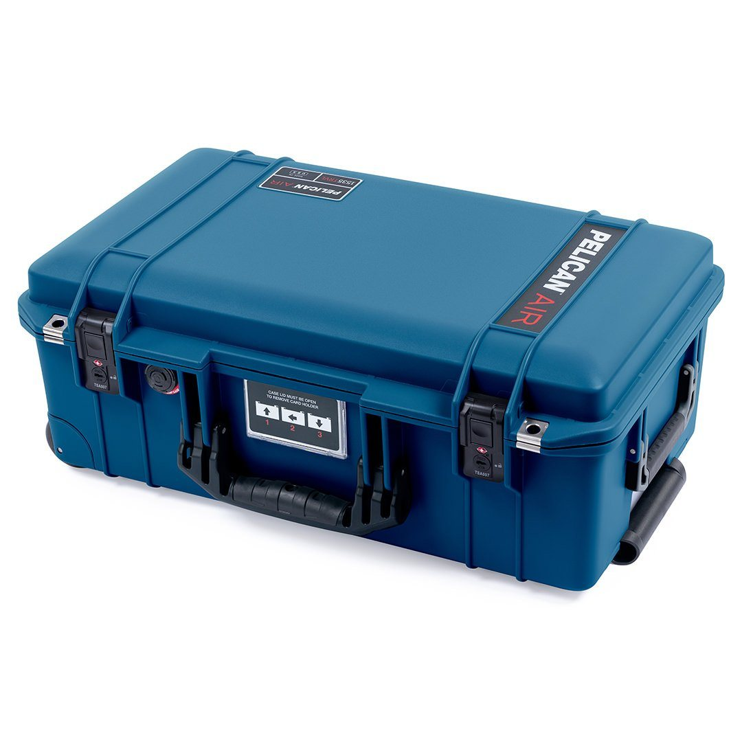 Pelican 1535TRVL Air Travel Case with Locking TSA Latches, Indigo - Pelican Color Case