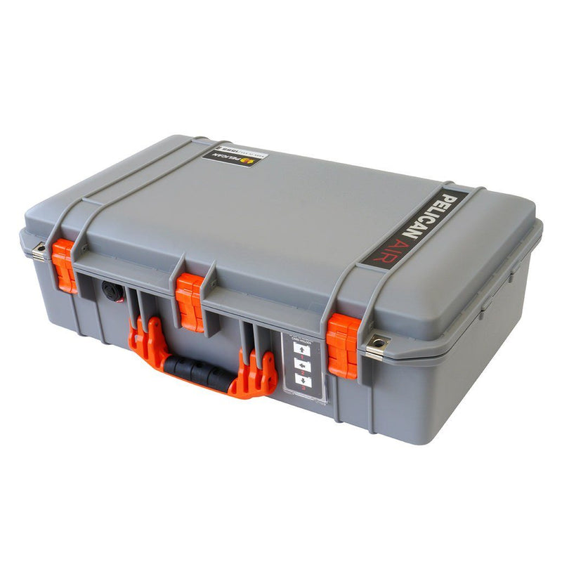 Pelican air colors series silver gray case with