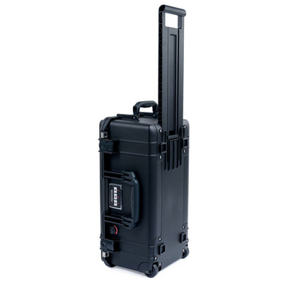 Pelican 1556 Air Case, Black with Press & Pull™ Latches - Pelican Color Case