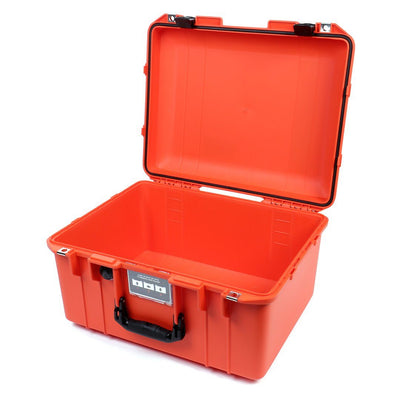 Pelican 1557 Air Colors Series, Orange Air Case with Black Handle & Latches, Customizable Accessory Bundles - Pelican Color Case