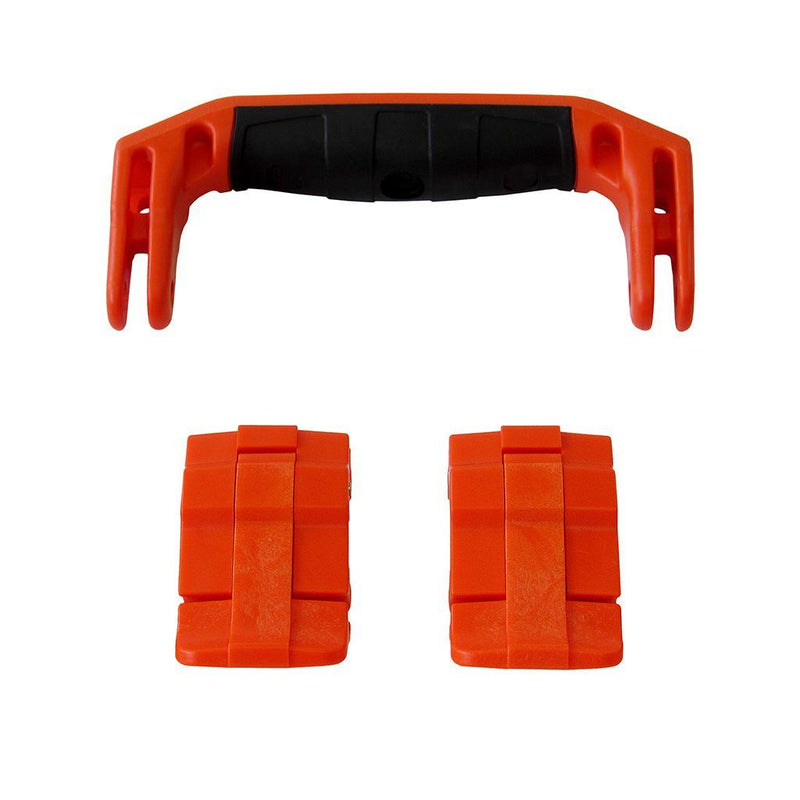 Orange Replacement Handle & Latches for Pelican 1430 or 1557 Air, One Orange Handle, 2 Orange Latches - Pelican Color Case