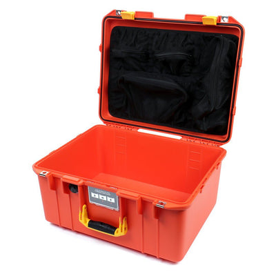 Pelican 1557 Air Colors Series, Orange Air Case with Yellow Handle & Latches, Customizable Accessory Bundles - Pelican Color Case