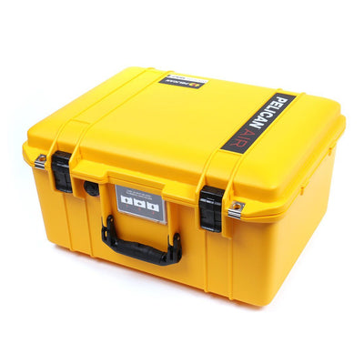 Pelican 1557 Air Case, Yellow with Black Handle & Latches - Pelican Color Case