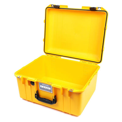 Pelican 1557 Air Colors Series, Yellow Air Case with Black Handle & Latches, Customizable Accessory Bundles - Pelican Color Case