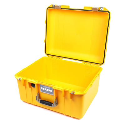 Pelican 1557 Air Colors Series, Yellow Air Case with Desert Tan Handle & Latches, Customizable Accessory Bundles - Pelican Color Case