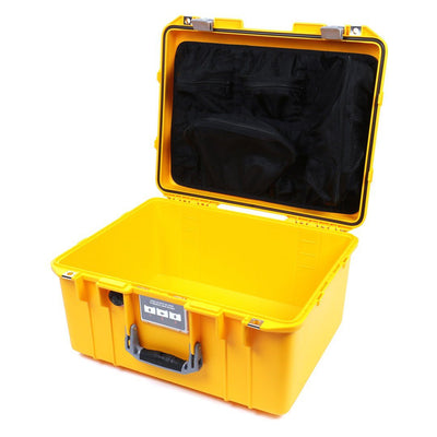 Pelican 1557 Air Case, Yellow with Silver Handle & Latches - Pelican Color Case