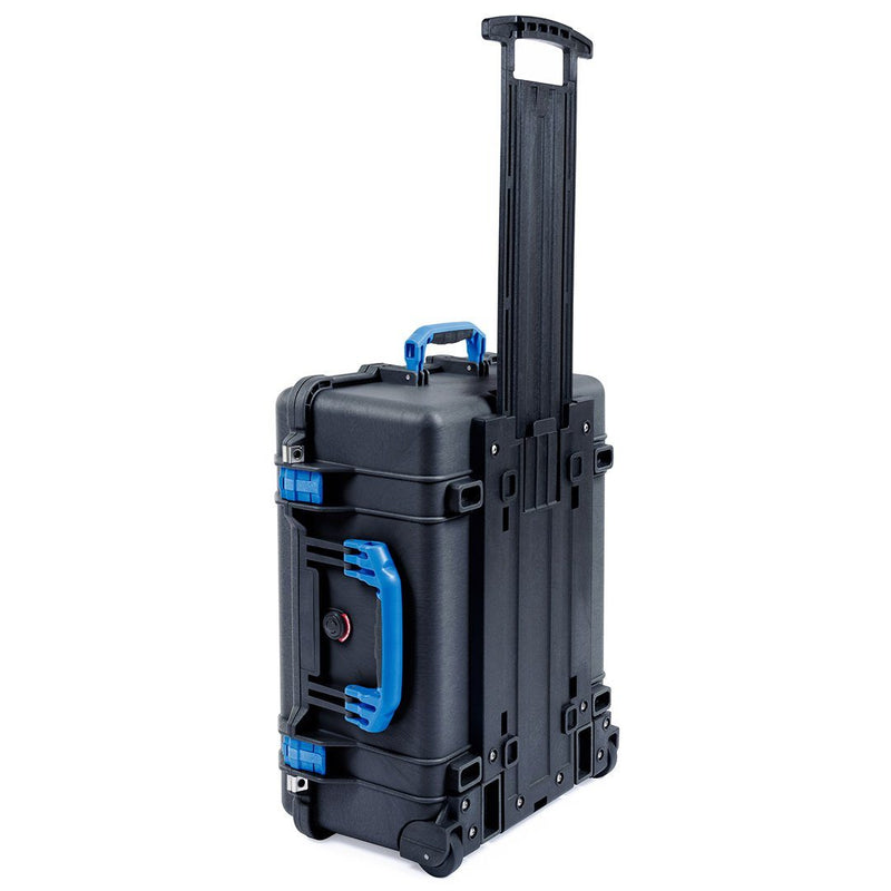 Pelican 1560 Case, Black with Blue Handles & Latches