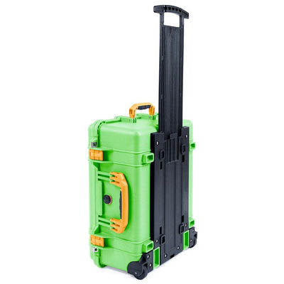 Pelican 1560 Case, Lime Green with Yellow Handles & Latches - Pelican Color Case