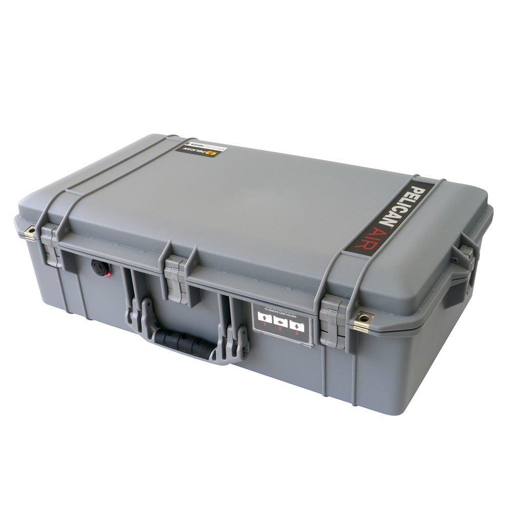 Pelican 1605 Air Case, Silver - Pelican Color Case