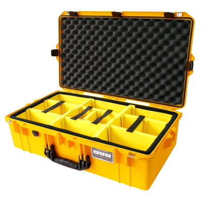 Pelican 1605 Air Case, Yellow with Black Handle & Latches - Pelican Color Case