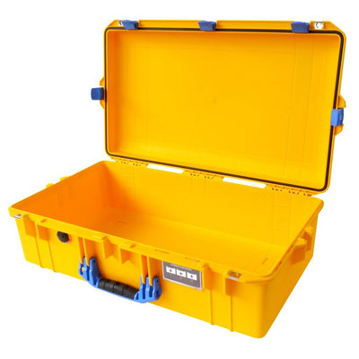 Pelican 1605 Air Case, Yellow with Blue Handle & Latches - Pelican Color Case
