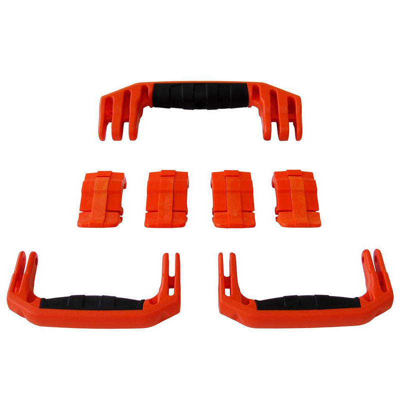 Orange Replacement Handles & Latches for Pelican 1607 Air, 3 Orange Handles, 4 Orange Latches - Pelican Color Case
