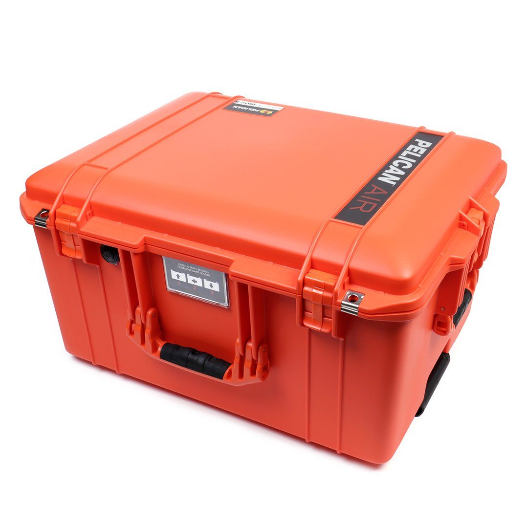 Pelican 1607 Air Case, Orange, Customizable Accessory Bundles