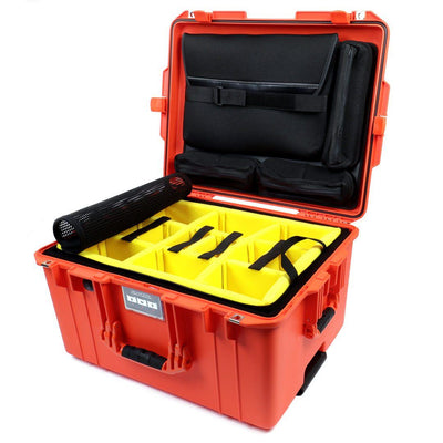 Pelican 1607 Air Case, Orange - Pelican Color Case